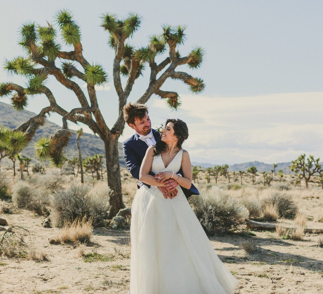 Joshua Tree Wedding Quail Springs Picnic Area