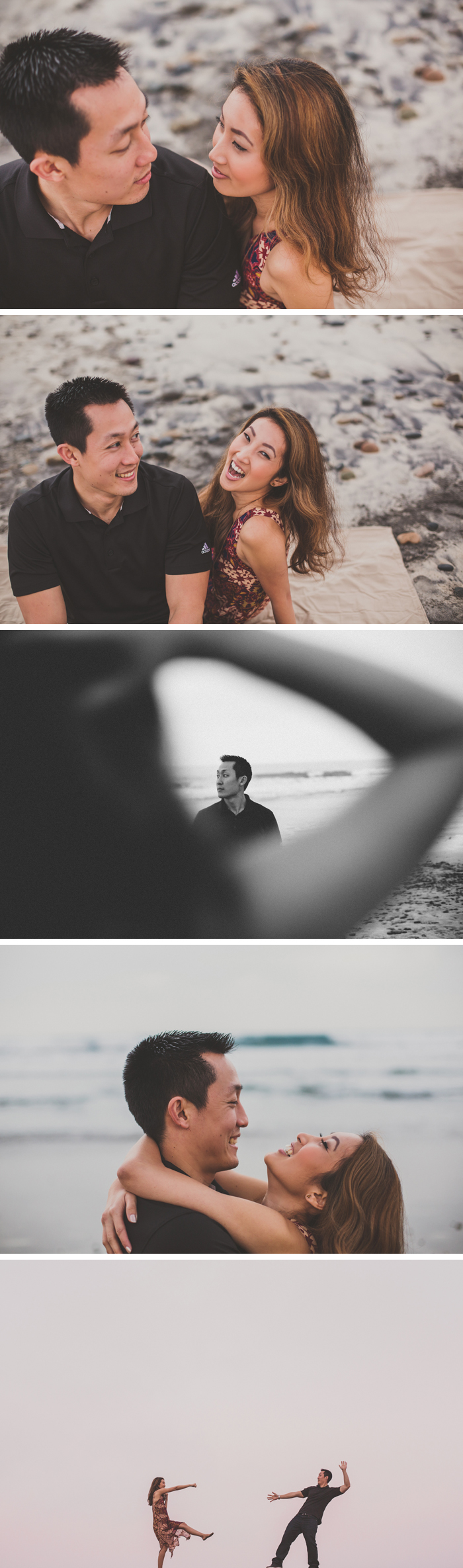 Engagement Session In Carlsbad, California