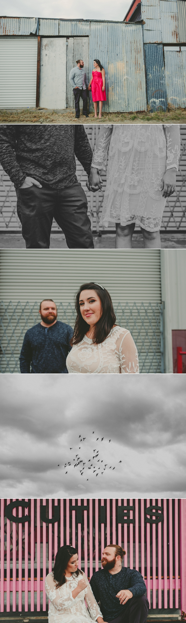 San Diego Brewery Engagement Photos