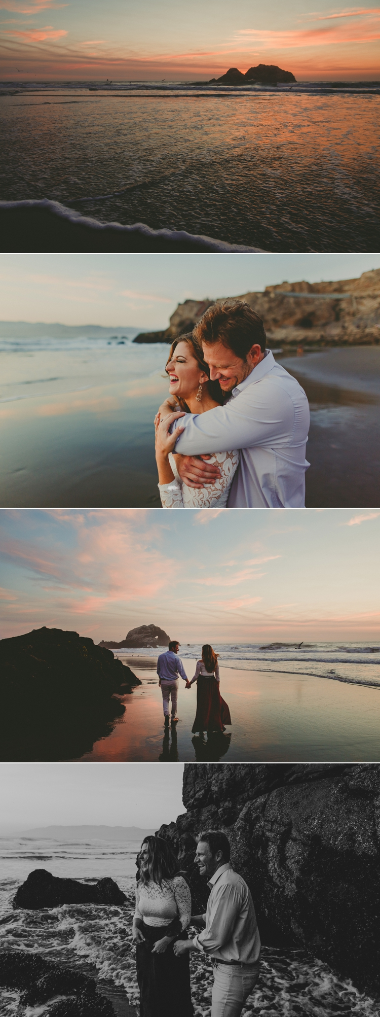 Engagement Photos Sutro Baths San Francisco
